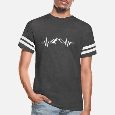 Frequency Mountain frequency - Unisex Vintage Sport T-Shirt