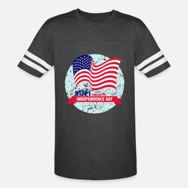 Independence Day USA Happy Independence Day 4 July - Unisex Vintage Sport T-Shirt