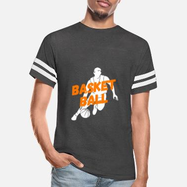 Basketball Player Sport Basket Training Basket - Unisex Vintage Sport T-Shirt
