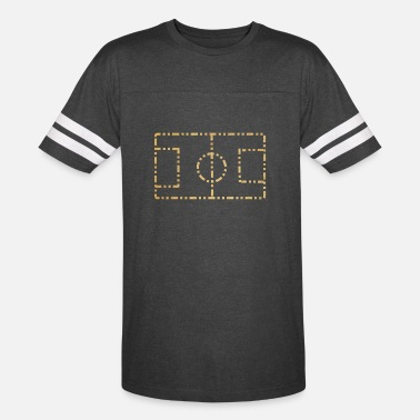 Football Pitch FOOT BALL PITCH - Unisex Vintage Sport T-Shirt