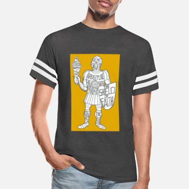 Suit Of Armor Dave The Cat Suit Of Armor GOLD - Unisex Vintage Sport T-Shirt