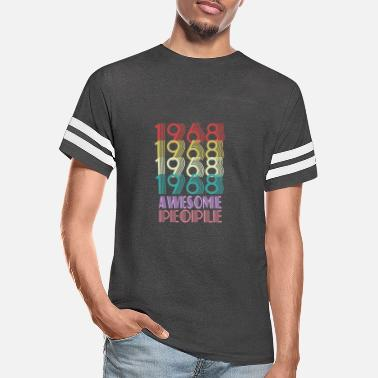 1968 Awesome People - Unisex Vintage Sport T-Shirt