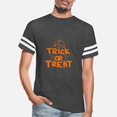Trick Or Treat Trick or Treat - Unisex Vintage Sport T-Shirt