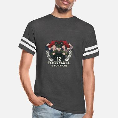 Leeds Football Is For Fans. - Unisex Vintage Sport T-Shirt