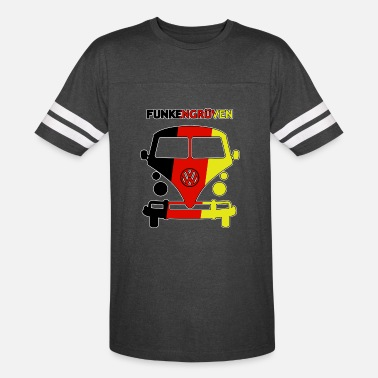 Air Cooled Bus FUNKENGRUVEN 2 - Unisex Vintage Sport T-Shirt