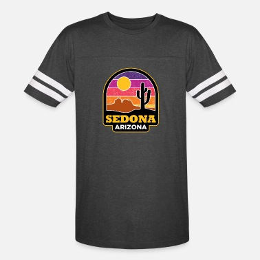 Arizona Sedona Arizona - Unisex Vintage Sport T-Shirt