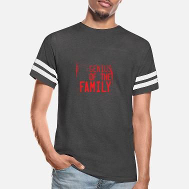 Genius Of The Family - Unisex Vintage Sport T-Shirt