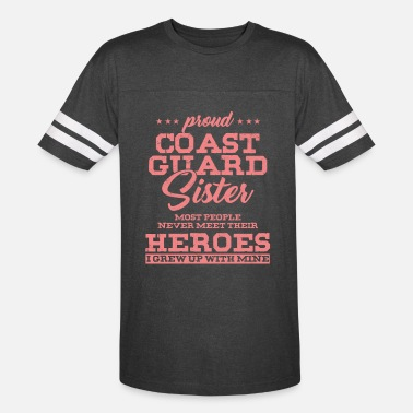 Coast Guard Veteran's Day Independence Day 4th Of July Pretty - Unisex Vintage Sport T-Shirt