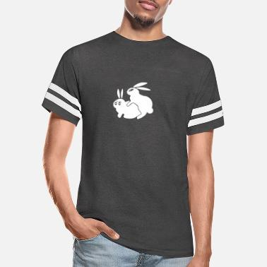 Humping Rude Rabbits Humping - Unisex Vintage Sport T-Shirt