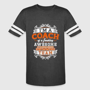 Coach of an awesome synchronized swimming team - Vintage Sport T-Shirt