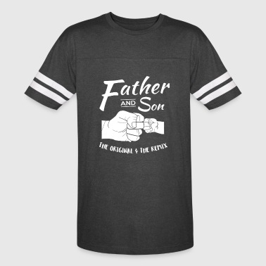 Father and Son fist bump - Vintage Sport T-Shirt