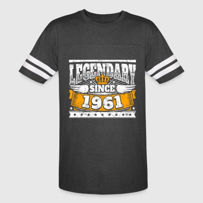 Legend Birthday: Legendary since 1961 birth year - Vintage Sport T-Shirt