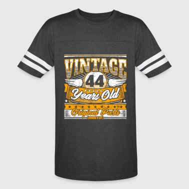 Funny 44th Birthday Shirt: Vintage 44 Years Old - Vintage Sport T-Shirt
