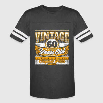 Funny 60th Birthday Shirt: Vintage 60 Years Old - Vintage Sport T-Shirt