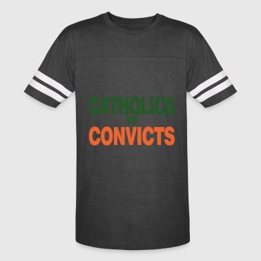 Catholics Vs Convicts 1988 Classic T-Shirt - Vintage Sport T-Shirt