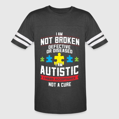 AUTISM MOM - AUTISM DAD - AUTISM AWARENESS SHIRTS - Vintage Sport T-Shirt