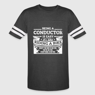 Conductor Shirt: Being A Conductor Is Easy - Vintage Sport T-Shirt