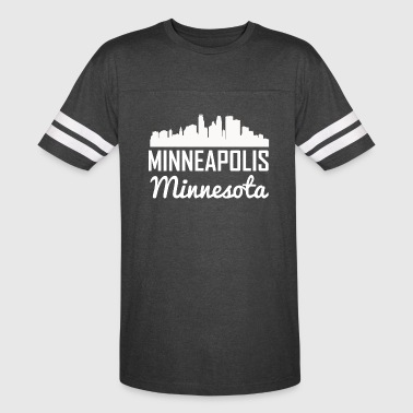 Minneapolis Minnesota Skyline - Vintage Sport T-Shirt