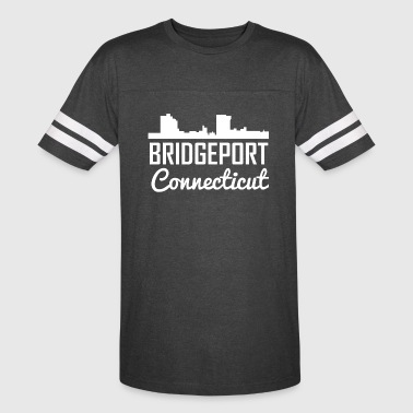 Bridgeport Connecticut Skyline - Vintage Sport T-Shirt