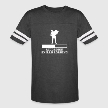 Accordion Skills Loading - Vintage Sport T-Shirt