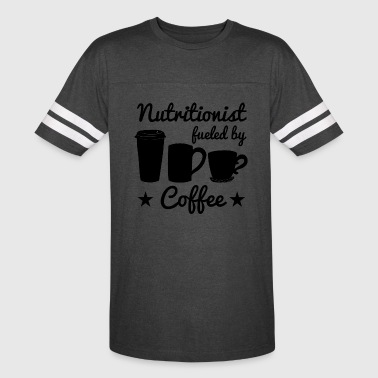 Nutritionist Fueled By Coffee - Vintage Sport T-Shirt