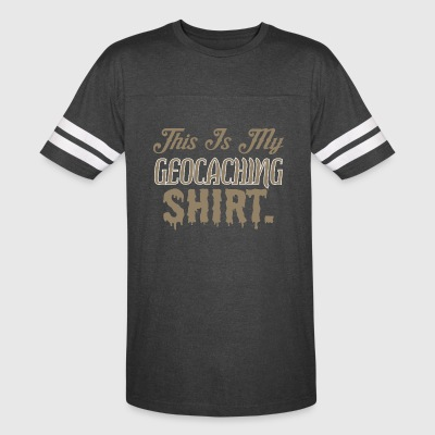 This Is My Geocaching Shirt - Vintage Sport T-Shirt