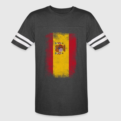 Spain Flag Proud Spanish Vintage Distressed Shirt - Vintage Sport T-Shirt