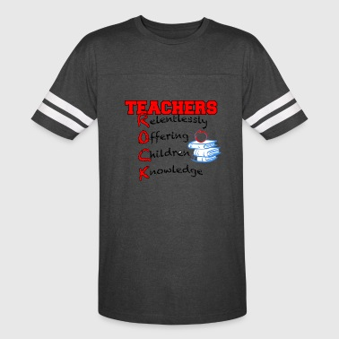 Teachers ROCK - Vintage Sport T-Shirt