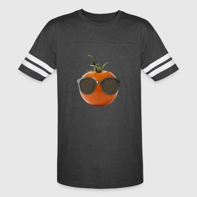 Tomato Gifts > Funny Tomato Wearing Sunglasses > - Vintage Sport T-Shirt