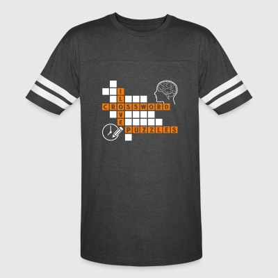 Love Crossword Puzzles Tee Shirt - Vintage Sport T-Shirt