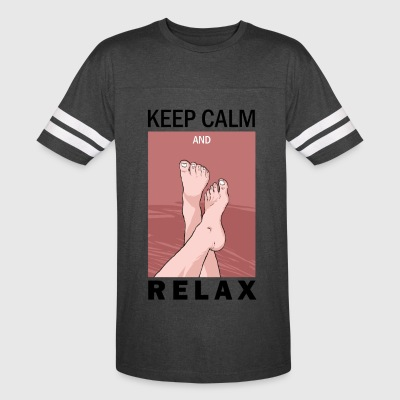 KEEP CALM AND RELAX - Vintage Sport T-Shirt