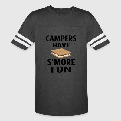 Campers Have Smore Fun - Vintage Sport T-Shirt