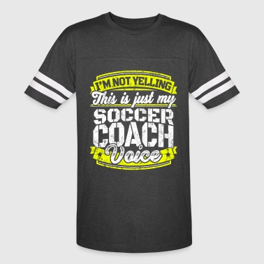 Funny Soccer coach: My Soccer Coach Voice - Vintage Sport T-Shirt