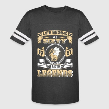 1957 - 60 years - Legends - 2017 – EN - Vintage Sport T-Shirt