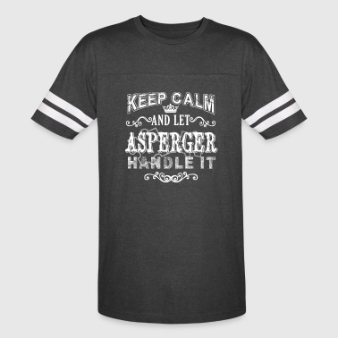 Let Asperger Handle It Shirt - Vintage Sport T-Shirt