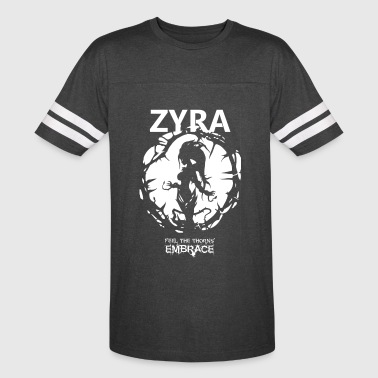 "Zyra ""Feel the thorns, Embrace"" - Vintage Sport T-Shirt"
