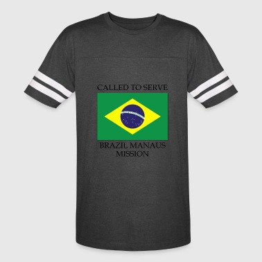 Brazil Manaus LDS Mission Called to Serve Flag - Vintage Sport T-Shirt
