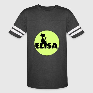 Elisa first name - Vintage Sport T-Shirt
