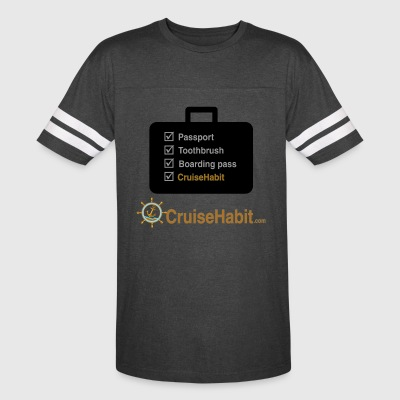 Cruise Check List - CruiseHabit - Vintage Sport T-Shirt