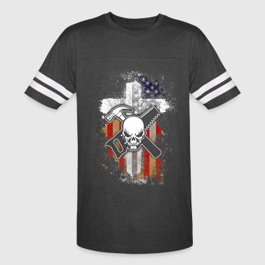 Flag and Carpenter T-Shirts - Vintage Sport T-Shirt