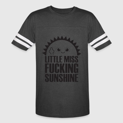 Little miss fucking sunshine - Vintage Sport T-Shirt