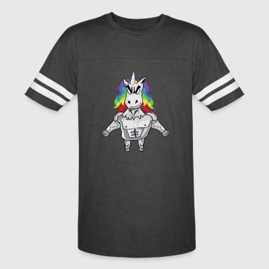 Cool Masculine Unicorn Dude - Vintage Sport T-Shirt