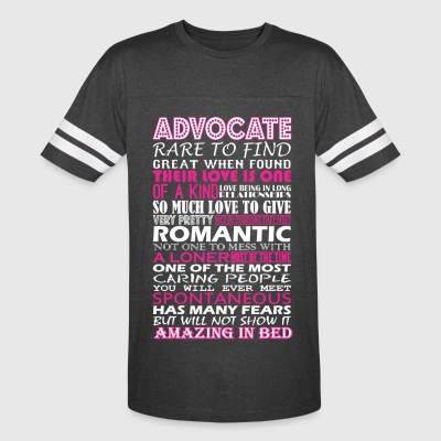 Advocate Rare To Find Romantic Amazing To Bed - Vintage Sport T-Shirt