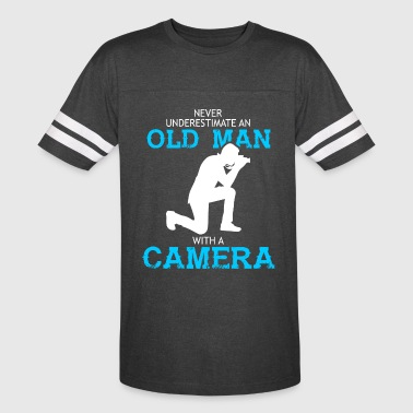 Old Man With A Camera T Shirt - Vintage Sport T-Shirt