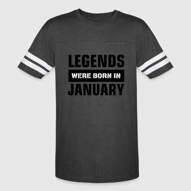 Legends were born in January - Vintage Sport T-Shirt