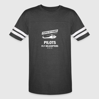 PILOT FLY HELICOPTERS SHIRT - Vintage Sport T-Shirt