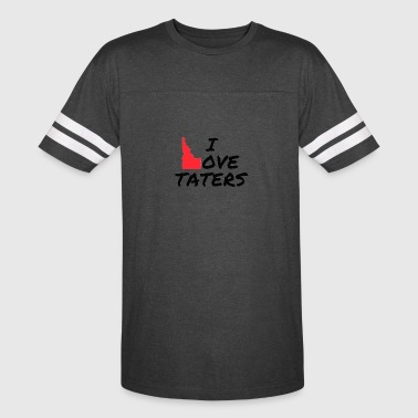 I love Taters - Vintage Sport T-Shirt