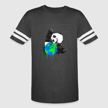 Earth Day Panda, Earth Bear - Vintage Sport T-Shirt