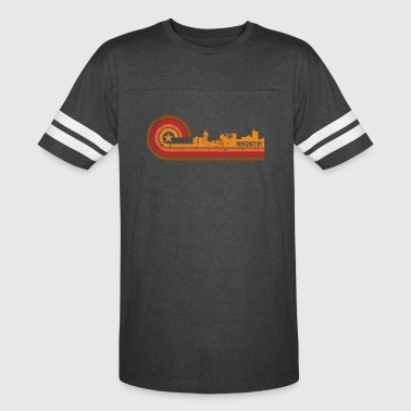 Retro Style Huntington West Virginia Skyline - Vintage Sport T-Shirt
