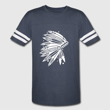 Chieftain's Headdress - Vintage Sport T-Shirt